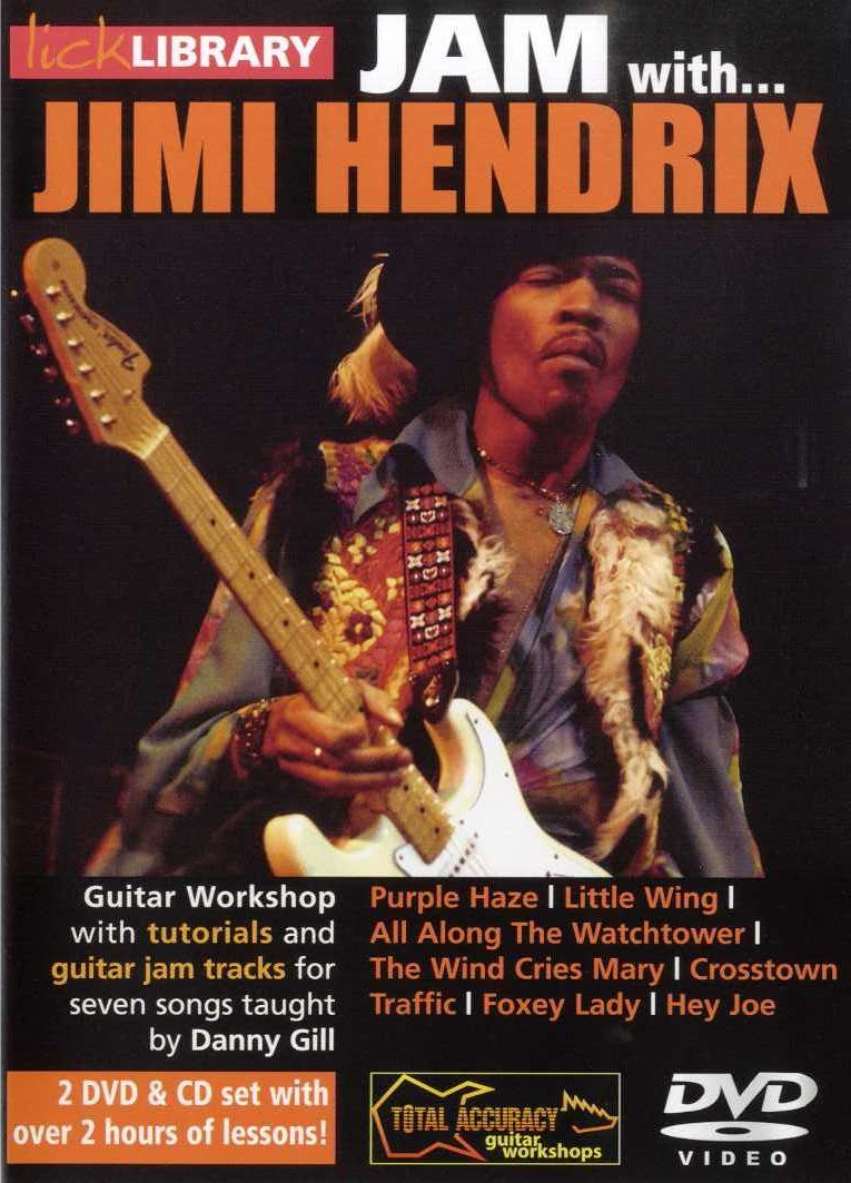 Jimi Hendrix: Jam With Jimi Hendrix: Guitar: Instrumental Tutor