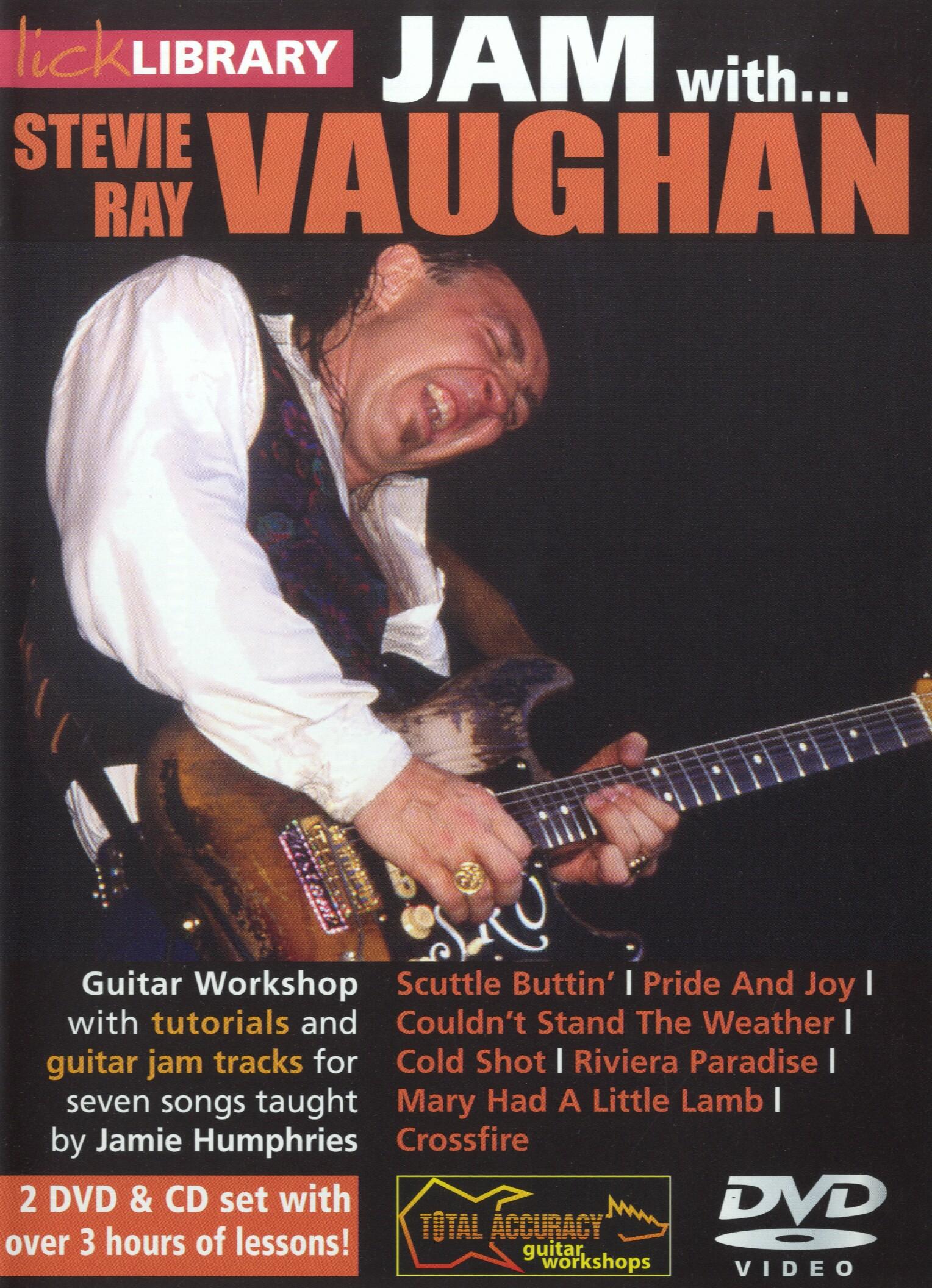 Stevie Ray Vaughan: Jam With Stevie Ray Vaughan: Electric Guitar: Instrumental