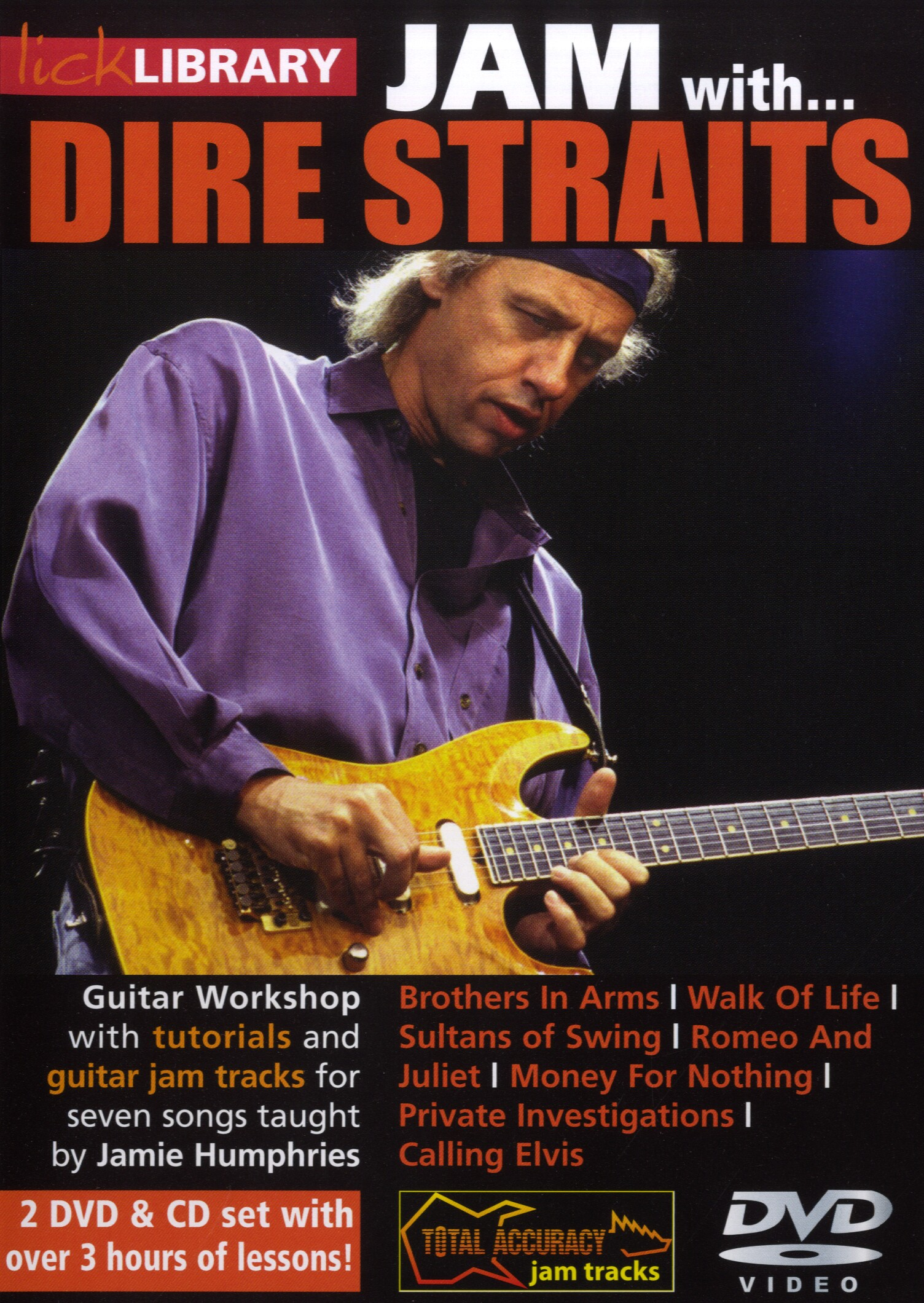 Mark Knopfler: Jam With Dire Straits: Guitar: Instrumental Tutor