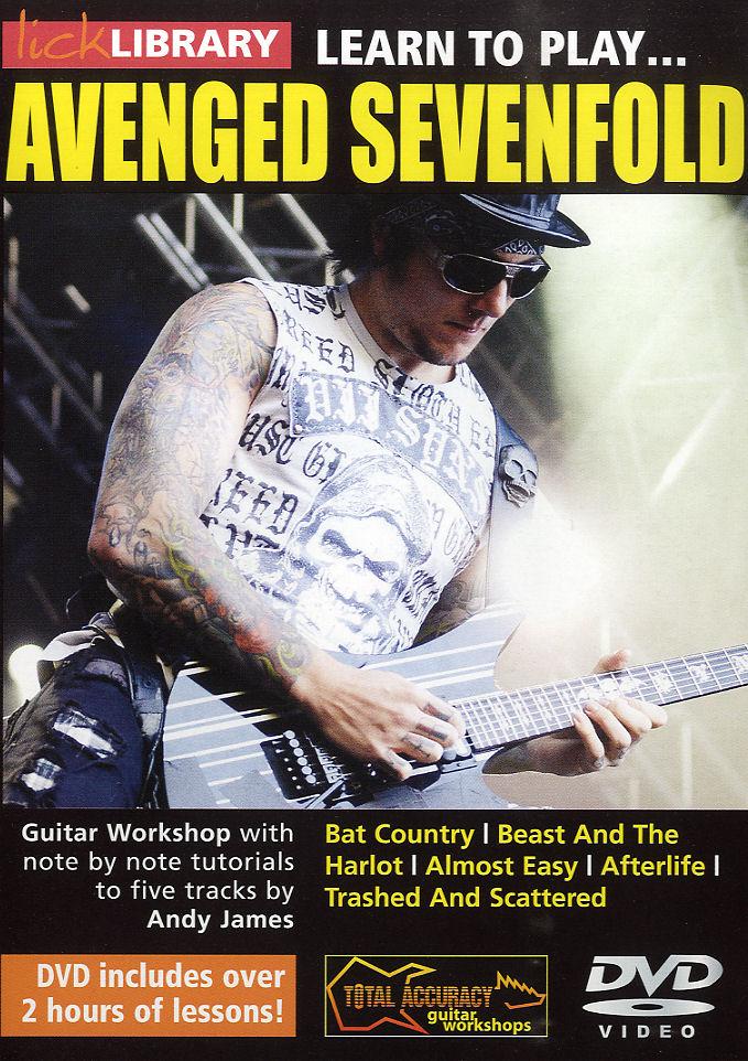 Avenged Sevenfold: Learn To Play Avenged Sevenfold: Guitar: Instrumental Tutor
