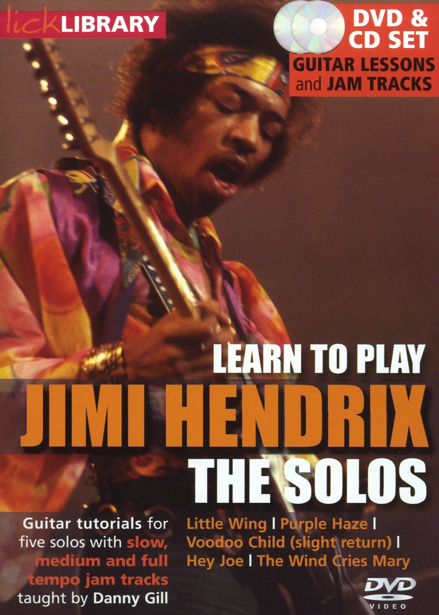 Lick Library: Learn To Play Jimi Hendrix - The Solos [DVD]