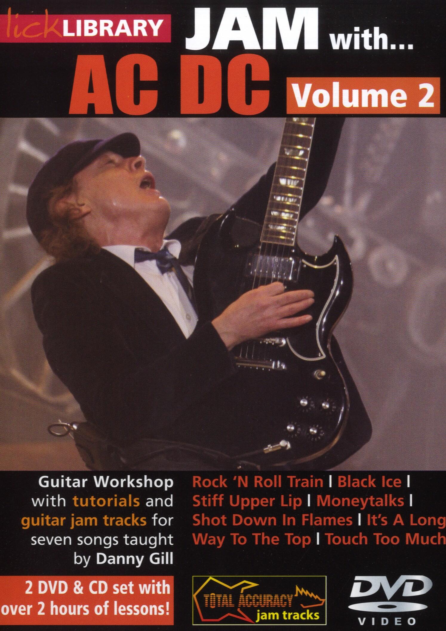 CD Jam With George Lynch DVD Roadrock International Lick Library