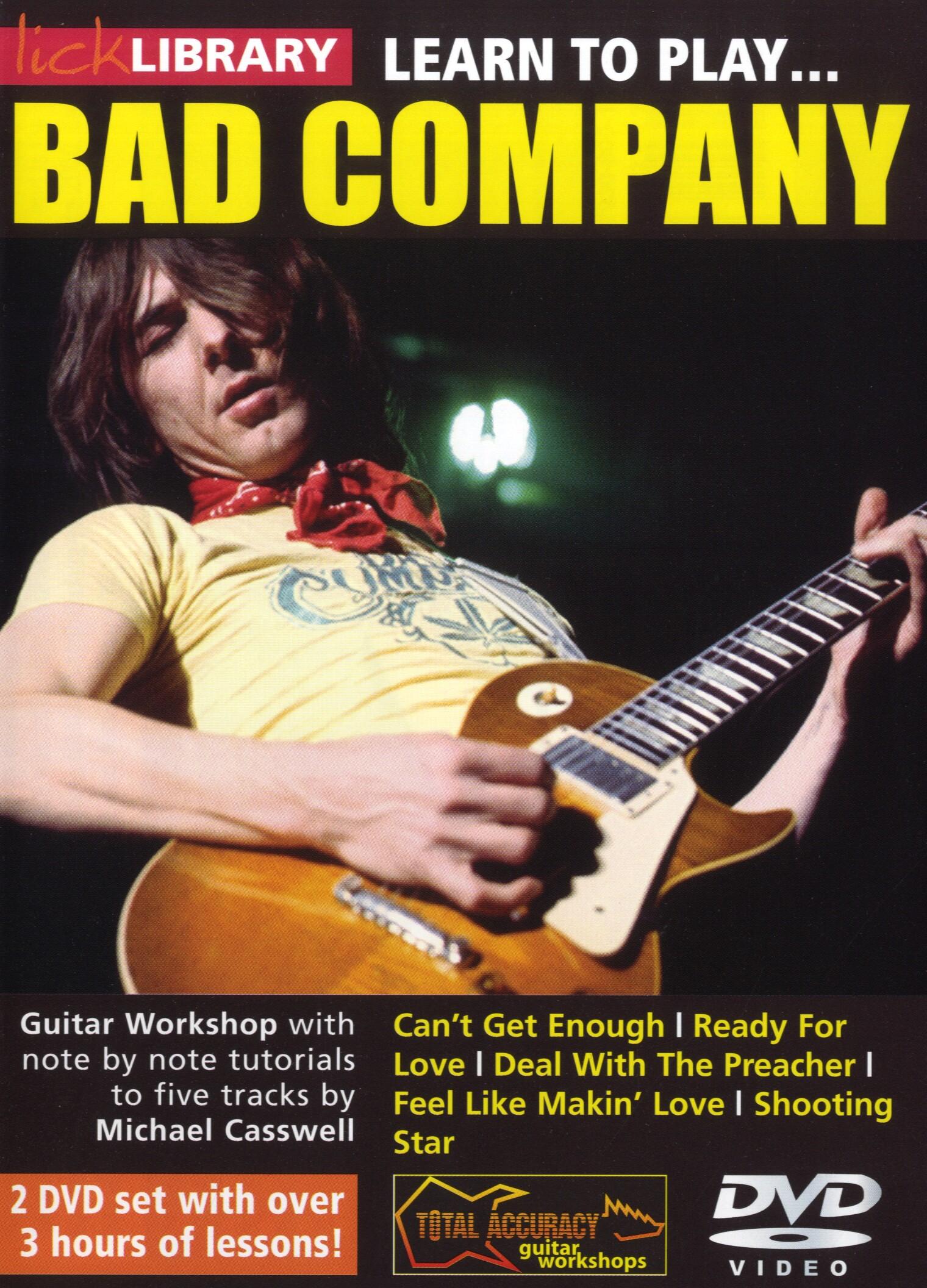 Bad Company: Learn To Play Bad Company: Guitar: Instrumental Tutor
