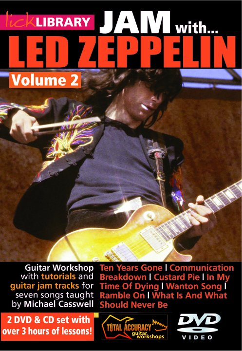 Jimmy Page Led Zeppelin: Jam With Led Zeppelin - Volume 2: Electric Guitar: