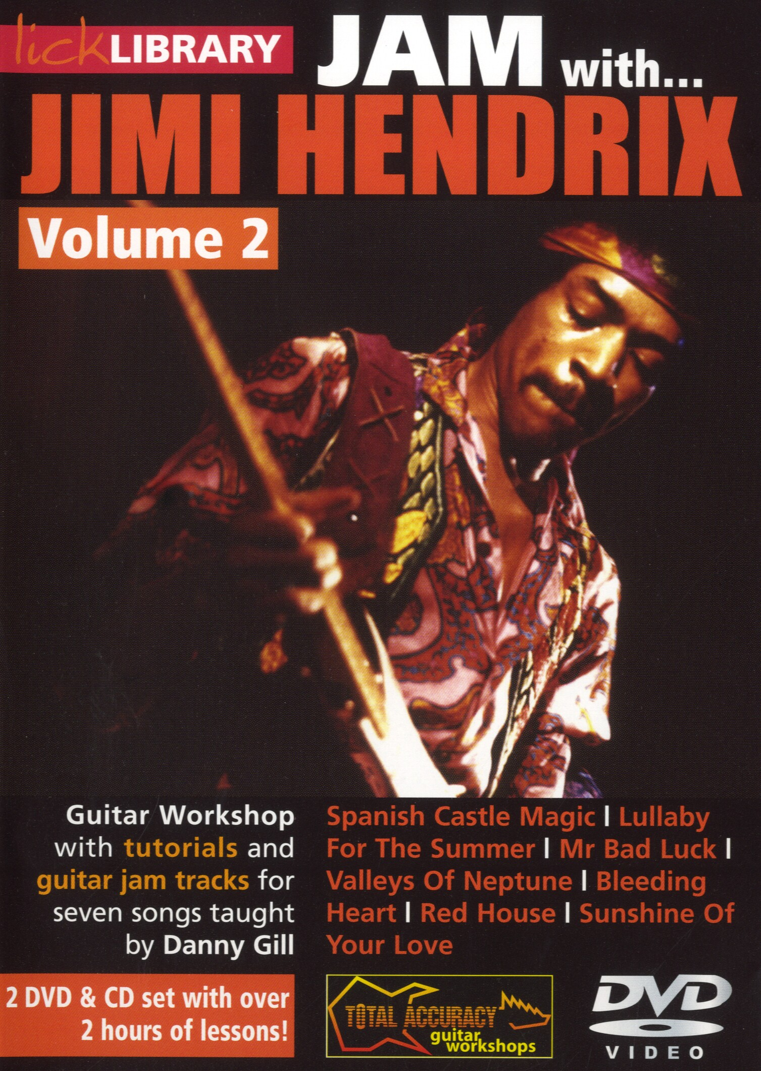Jimi Hendrix: Jam With Jimi Hendrix - Volume 2: Guitar: Instrumental Tutor