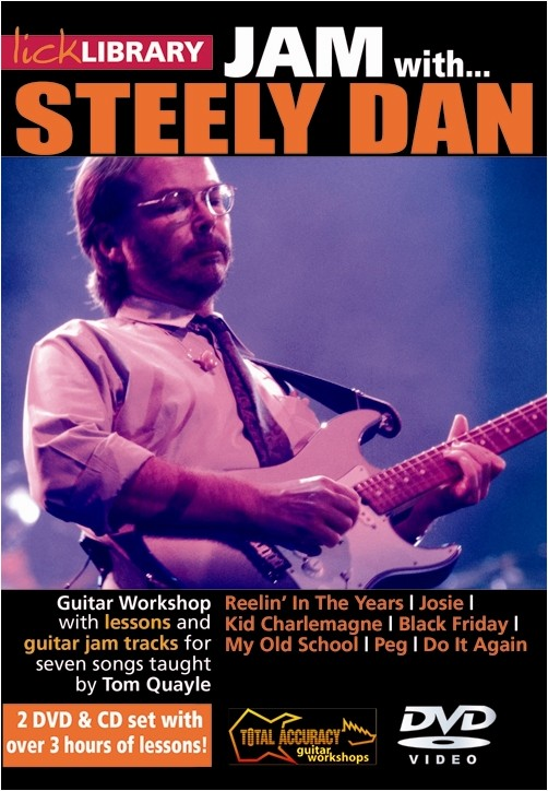 Tom Quayle: Jam With Steely Dan: Guitar: Instrumental Tutor