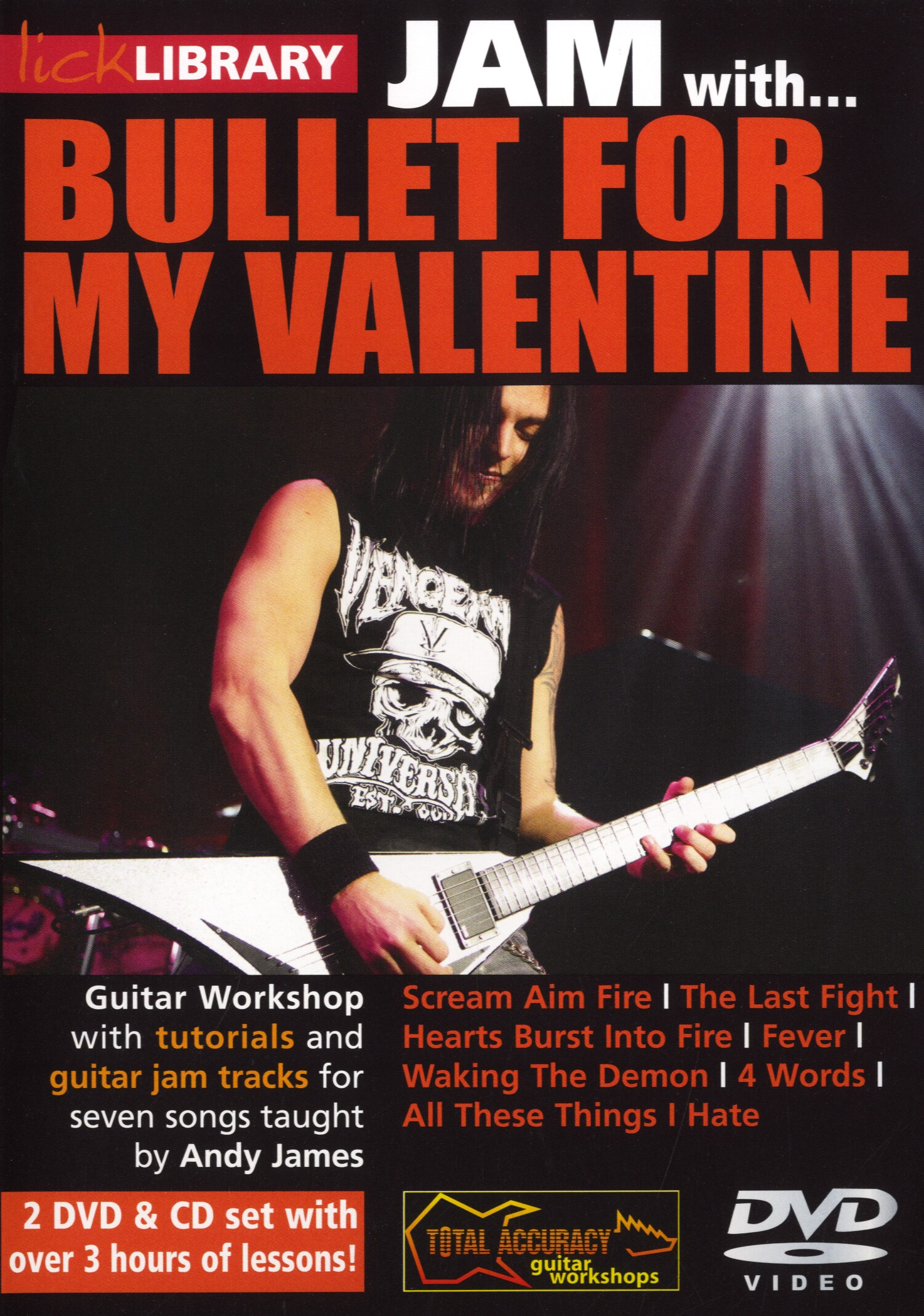 Andy James: Jam With Bullet For My Valentine: Guitar: Instrumental Tutor