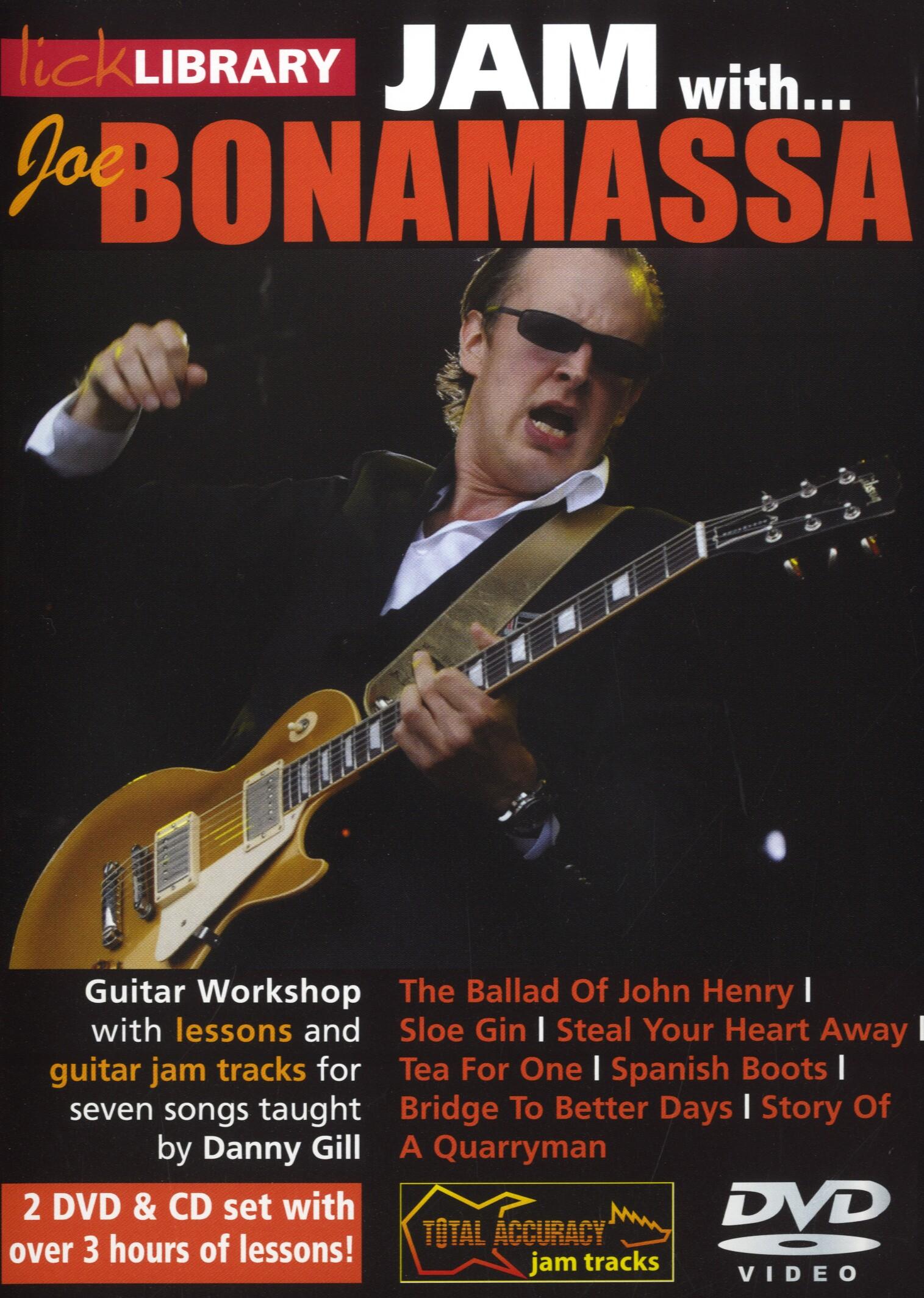 Joe Bonamassa: Jam With Joe Bonamassa: Guitar: Instrumental Tutor