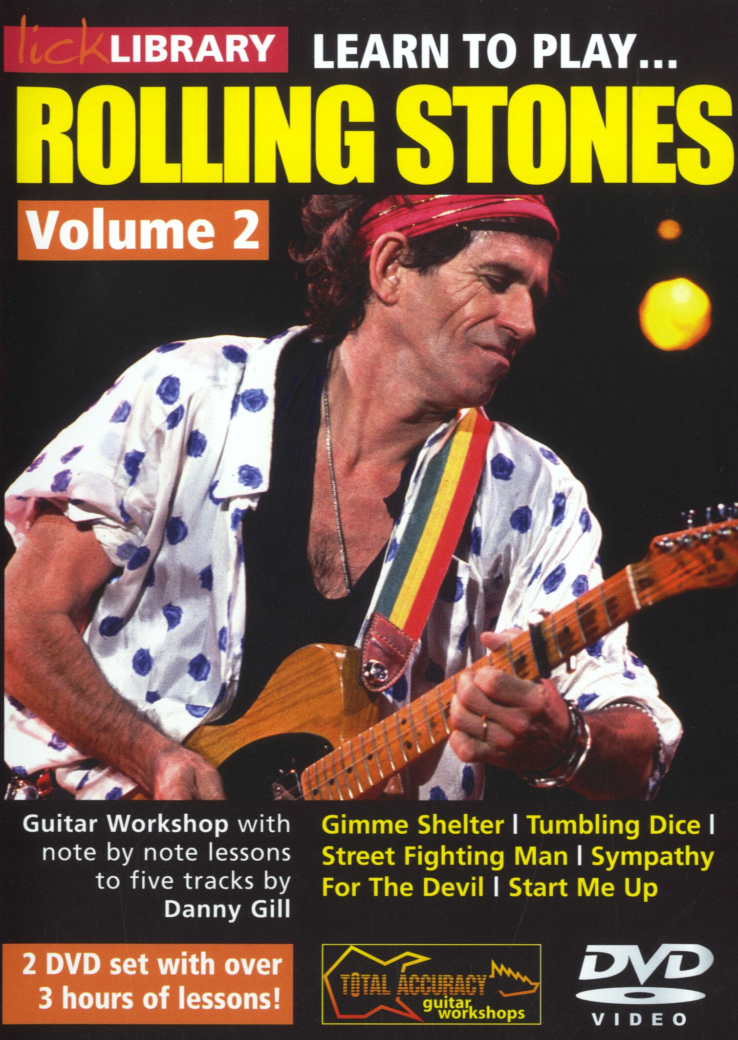 Danny Gill: Learn To Play Rolling Stones - Volume 2: Guitar: Instrumental Tutor