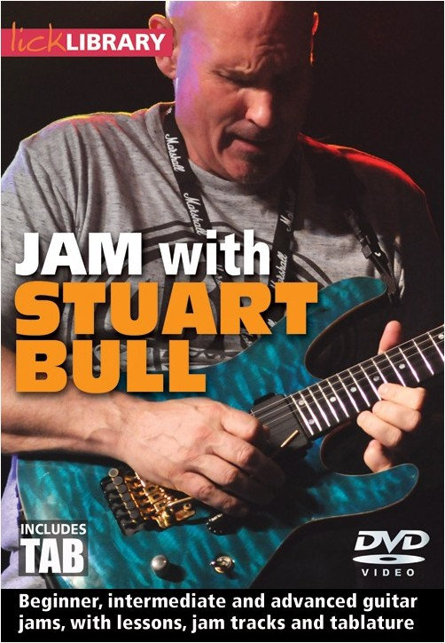 Stuart Bull: Jam With Stuart Bull: Guitar: Instrumental Tutor