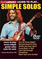 Learn To Play Simple Solos: Guitar: Instrumental Tutor