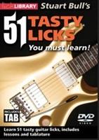 Stuart Bull's 51 Tasty Licks You Must Learn!. For Guitar