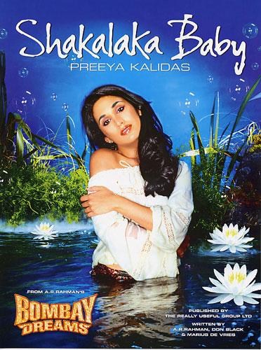Preeya Kalidas: Shakalaka baby: Piano  Vocal  Guitar: Single Sheet