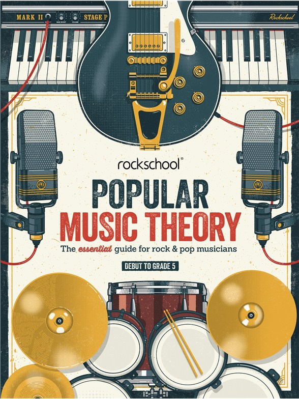 Rockschool: Popular Music Theory Guidebook (Grades Debut 5)