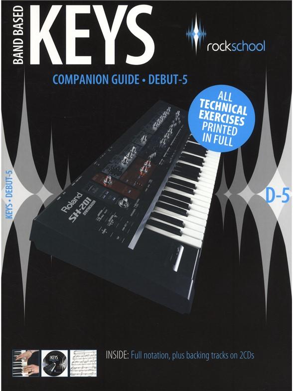 Jeremy Ward: Rockschool Companion Guide - Band Based Keys: Electric Keyboard: