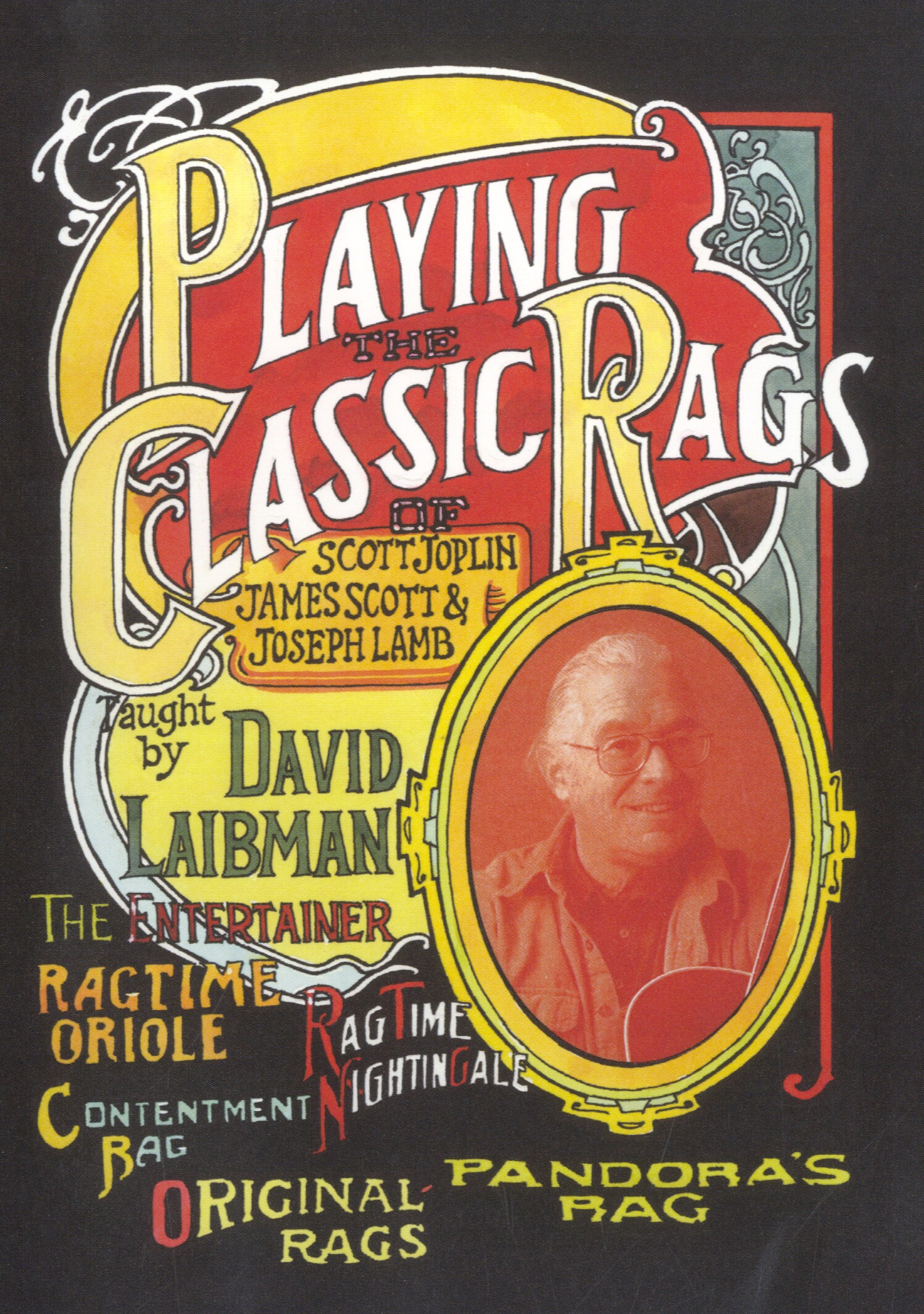 David Laibman: Playing The Classic Rags: Guitar: Instrumental Tutor