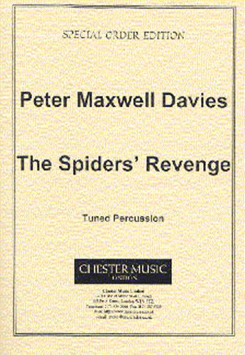 Peter Maxwell Davies: The Spiders' Revenge - Tuned Percussion: Tuned Percussion: