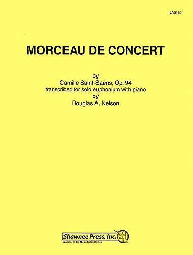 Camille Saint-Saëns: Morceau De Concert (B.C. Euphonium/Piano): Euphonium: Vocal