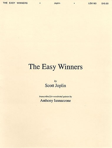 Scott Joplin: The Easy Winners: Wind Ensemble: Score and Parts