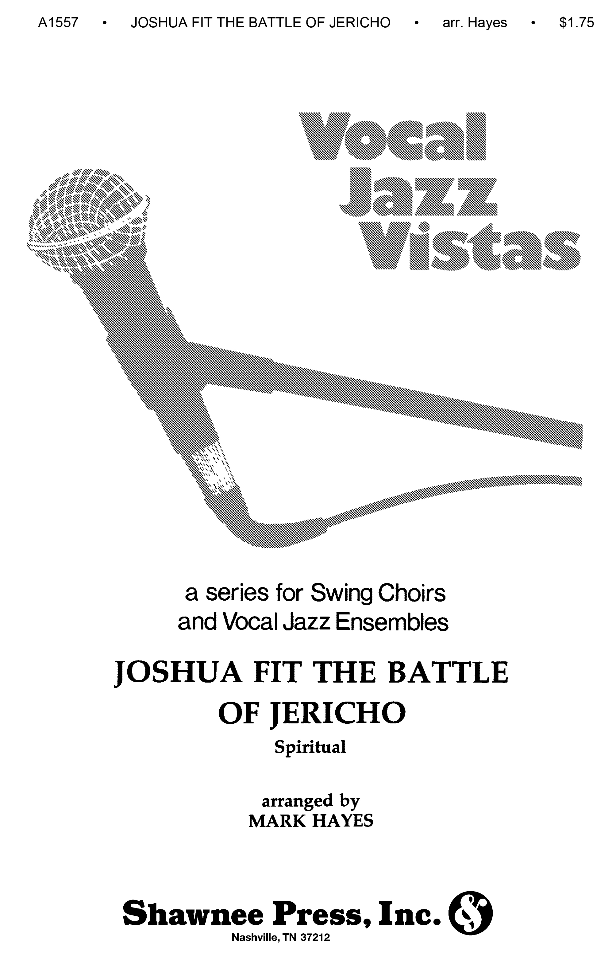 Anonymous: Joshua Fit The Battle Of Jerico (Spiritual): Mixed Choir: Vocal Score