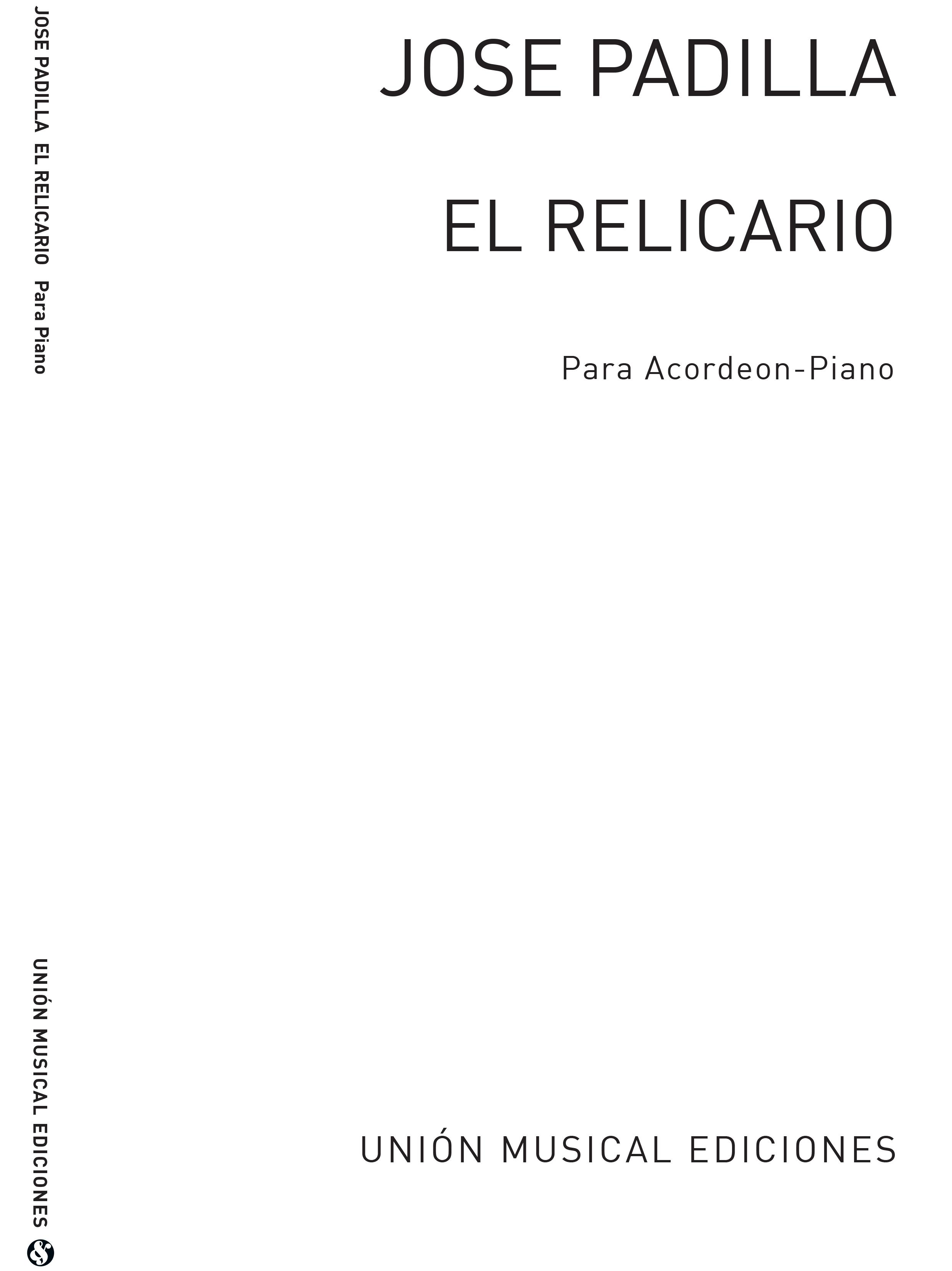 José Padilla: El Relicario  Pasodoble 3/4 (Biok) for Accordion: Accordion:
