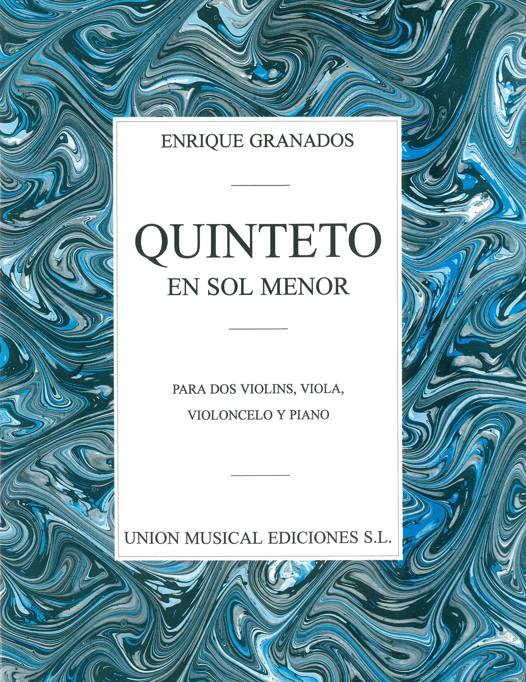 Enrique Granados: Quinteto En Sol Menor: Piano Quintet: Instrumental Work