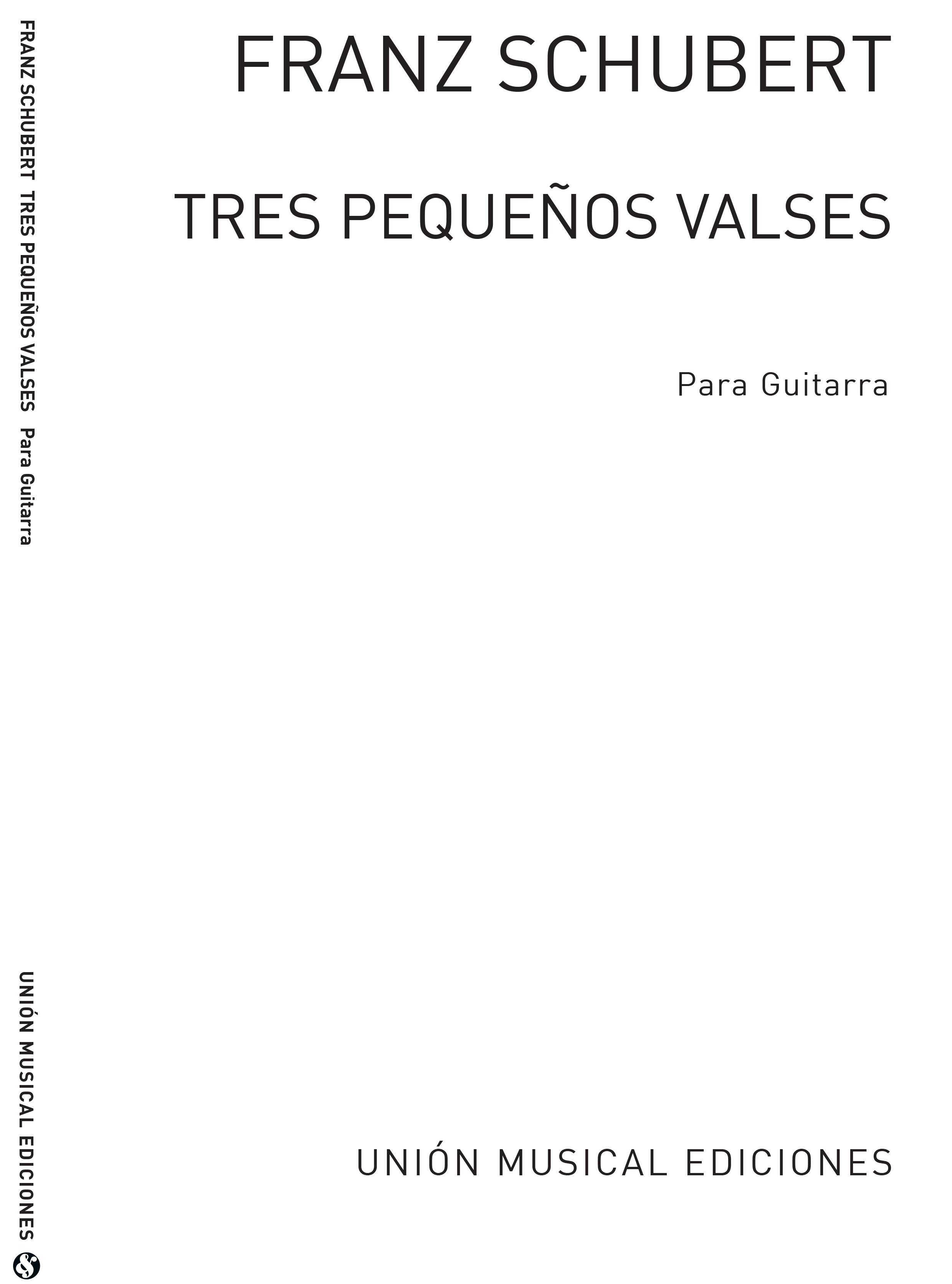 Franz Schubert: Tres Pequenos Valses: Guitar: Instrumental Album