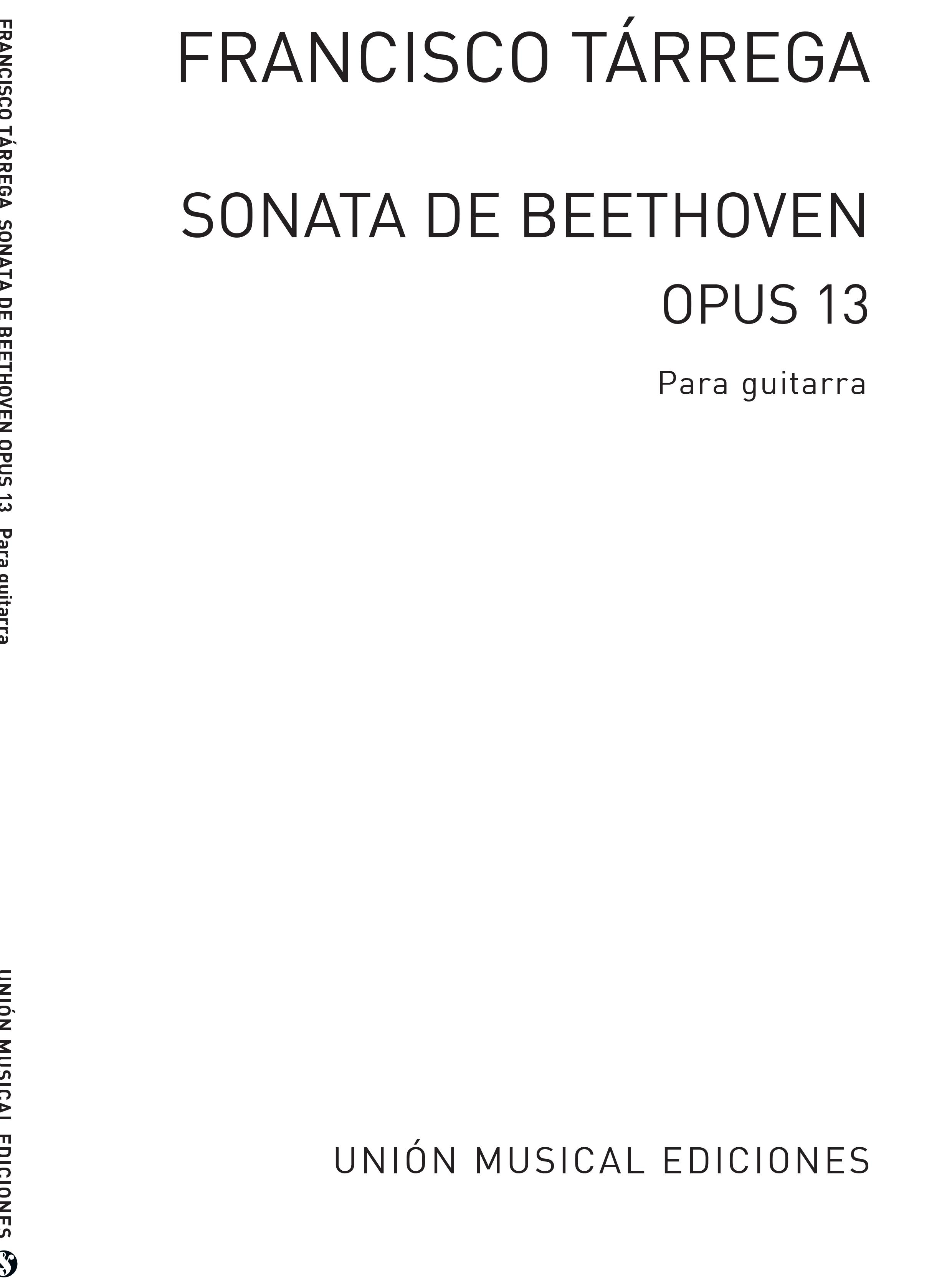 Ludwig van Beethoven: Adagio De La Sonata Patetica: Guitar: Instrumental Work
