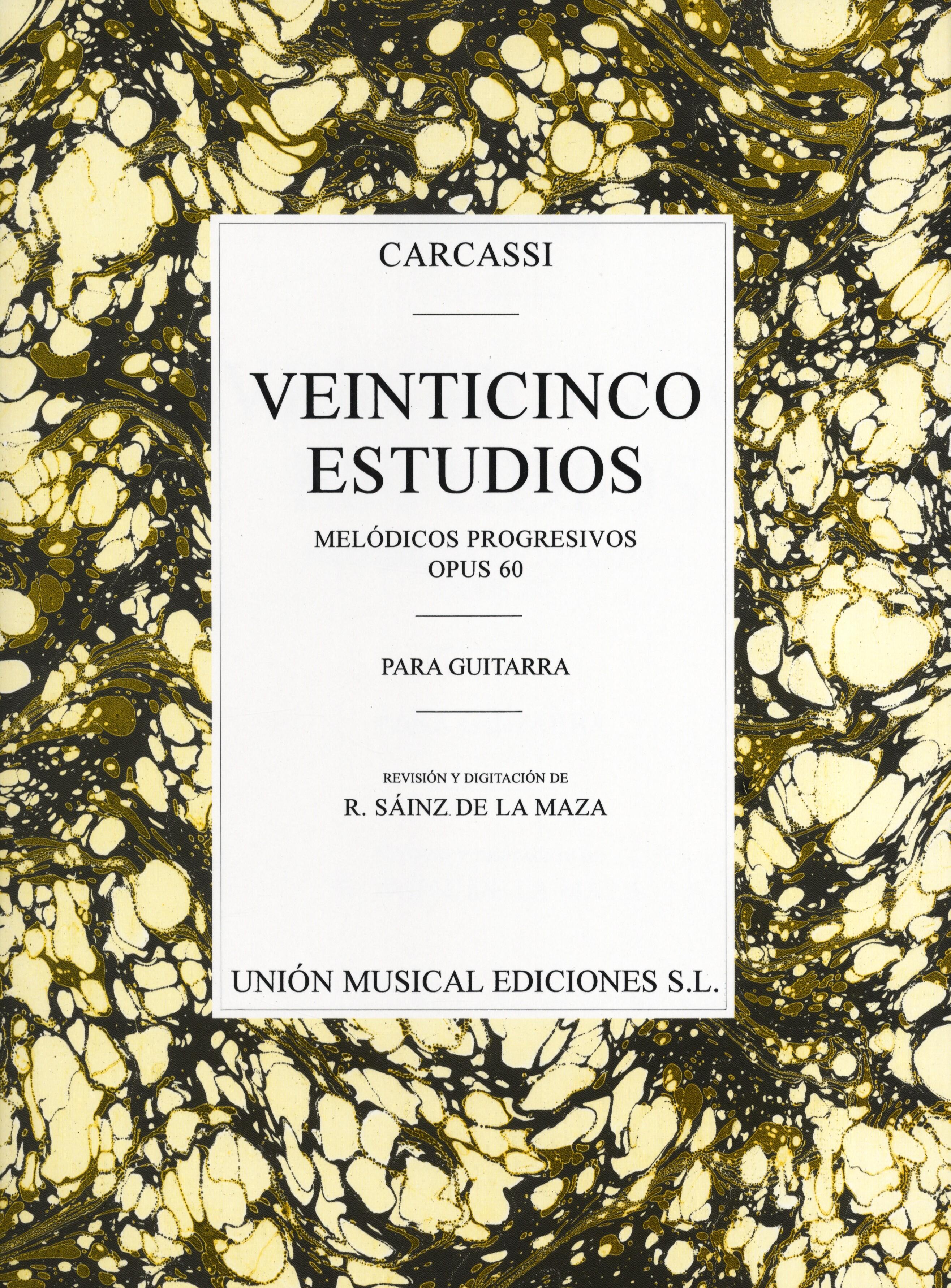 Matteo Carcassi: Twenty-Five Estudios Progresivos: Guitar: Instrumental Work