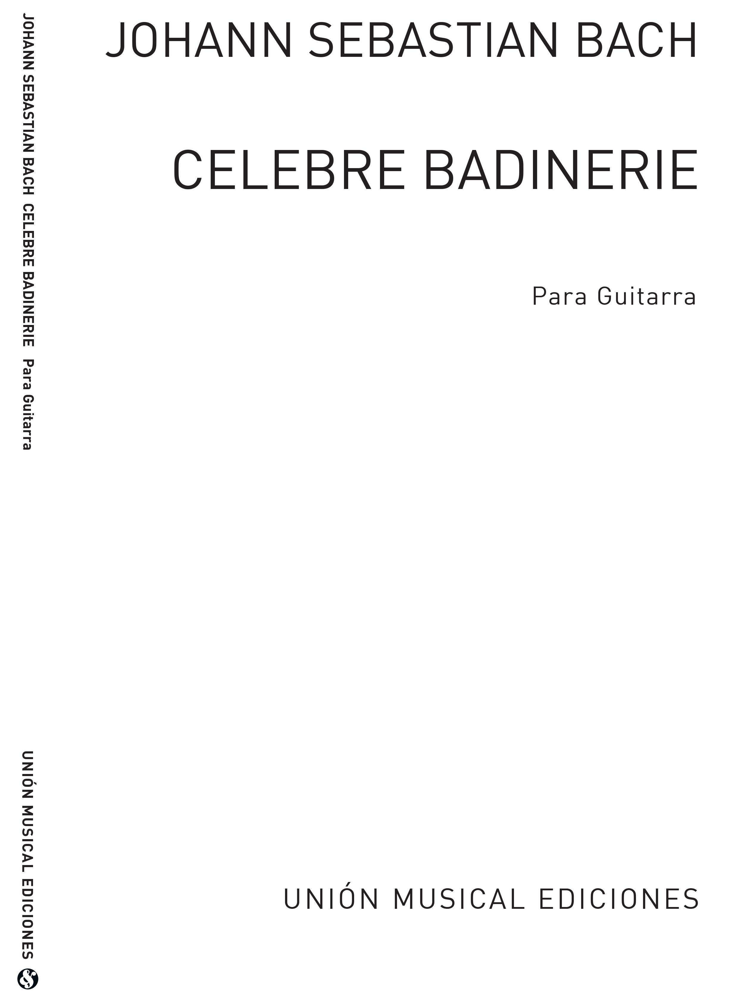 Johann Sebastian Bach: Badinerie: Guitar: Instrumental Work