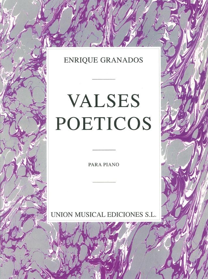 Enrique Granados: Valses Poeticos: Piano: Instrumental Album