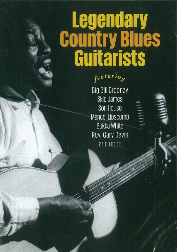Legendary Country Blues Guitarists: Guitar: Recorded Performance