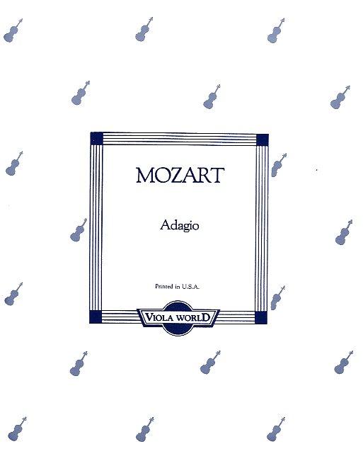 Wolfgang Amadeus Mozart: Adagio K.261 (Viola/Piano): Viola: Instrumental Work