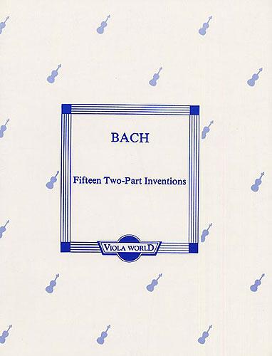 J.S. Bach: Fifteen Two-Part Inventions (Viola Duet). Sheet Music for Viola (Duet)
