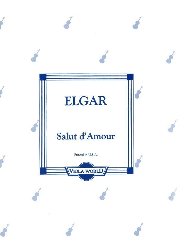 Edward Elgar: Salut D'Amour (Viola/Piano). Sheet Music for Viola  Piano Accompaniment