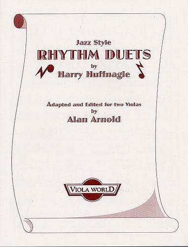 Harry Huffnagle: Jazz Style Rhythm Duets: Viola: Instrumental Album