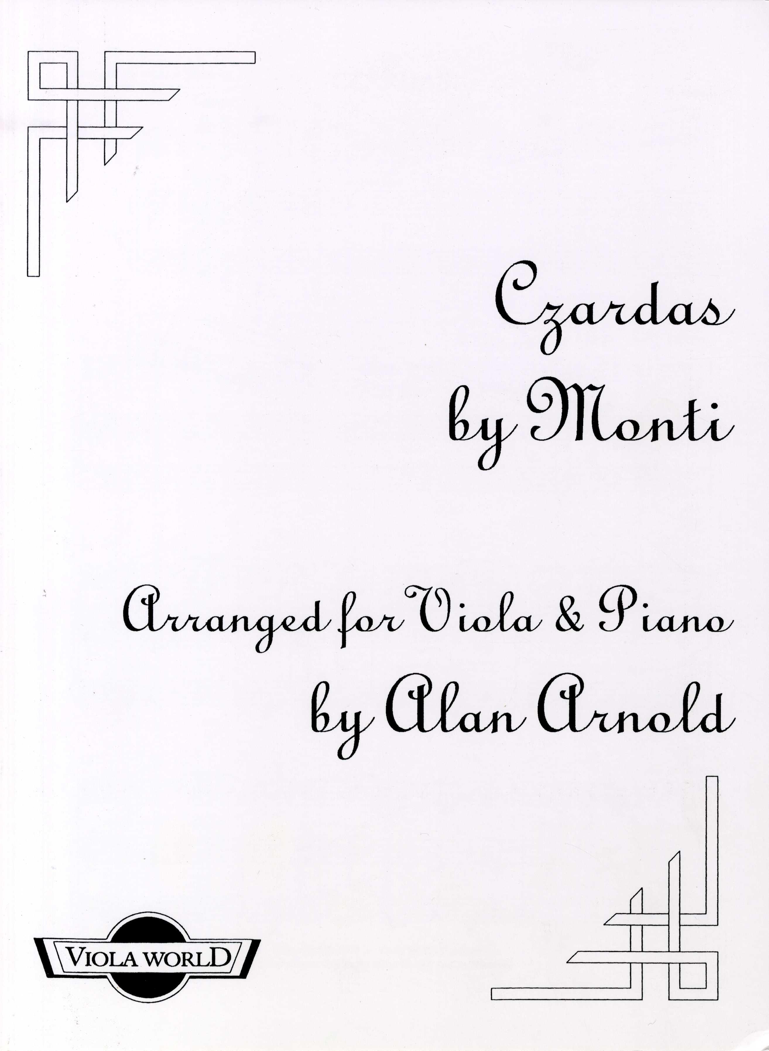 Vittorio Monti: Czardas (Viola And Piano): Viola: Instrumental Work