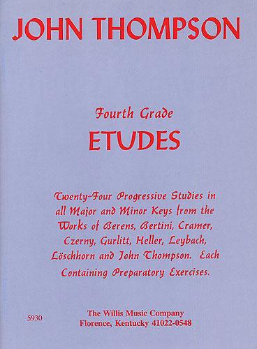 John Thompson: John Thompson's Modern Course: Fourth Grade Etudes: Piano: