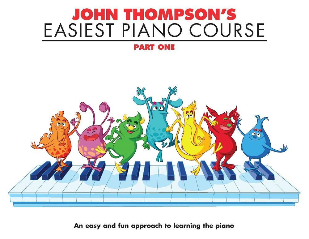 John Thompson: John Thompson's Easiest Piano Course 1: Piano: Instrumental Tutor