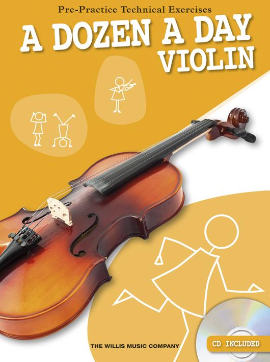 A Dozen A Day - Violin: Violin: Study