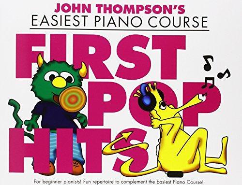 John Thompson: John Thompson's Piano Course: First Pop Hits: Piano: Mixed