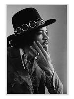 My World: Baron Wolman Greetings Card - Jimi Hendrix