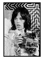My World: Baron Wolman Greetings Card - Mick Jagger