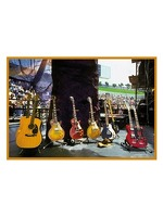My World: Baron Wolman Greetings Card - Led Zeppelin Guitars