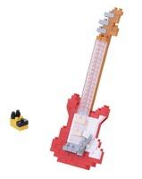 Nanoblock Electric Guitar - Red: Construction