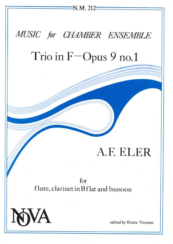 André Frédéric Eler: Trio In F Opus 9 No 1: Wind Ensemble: Instrumental Album