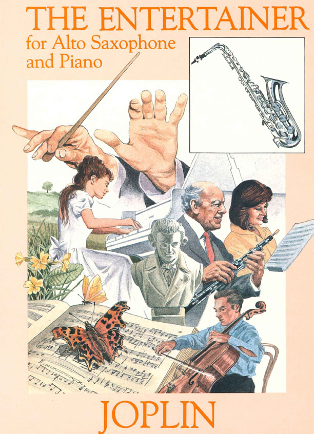 Scott Joplin: Entertainer: Alto Saxophone: Instrumental Album