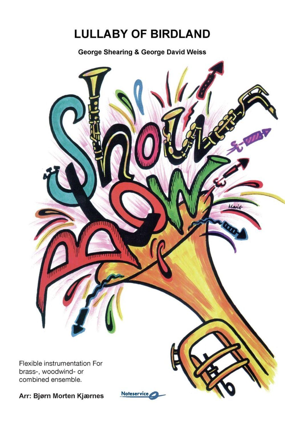 George Shearing George David Weiss: Lullaby of Birdland: Flexible Band: Score