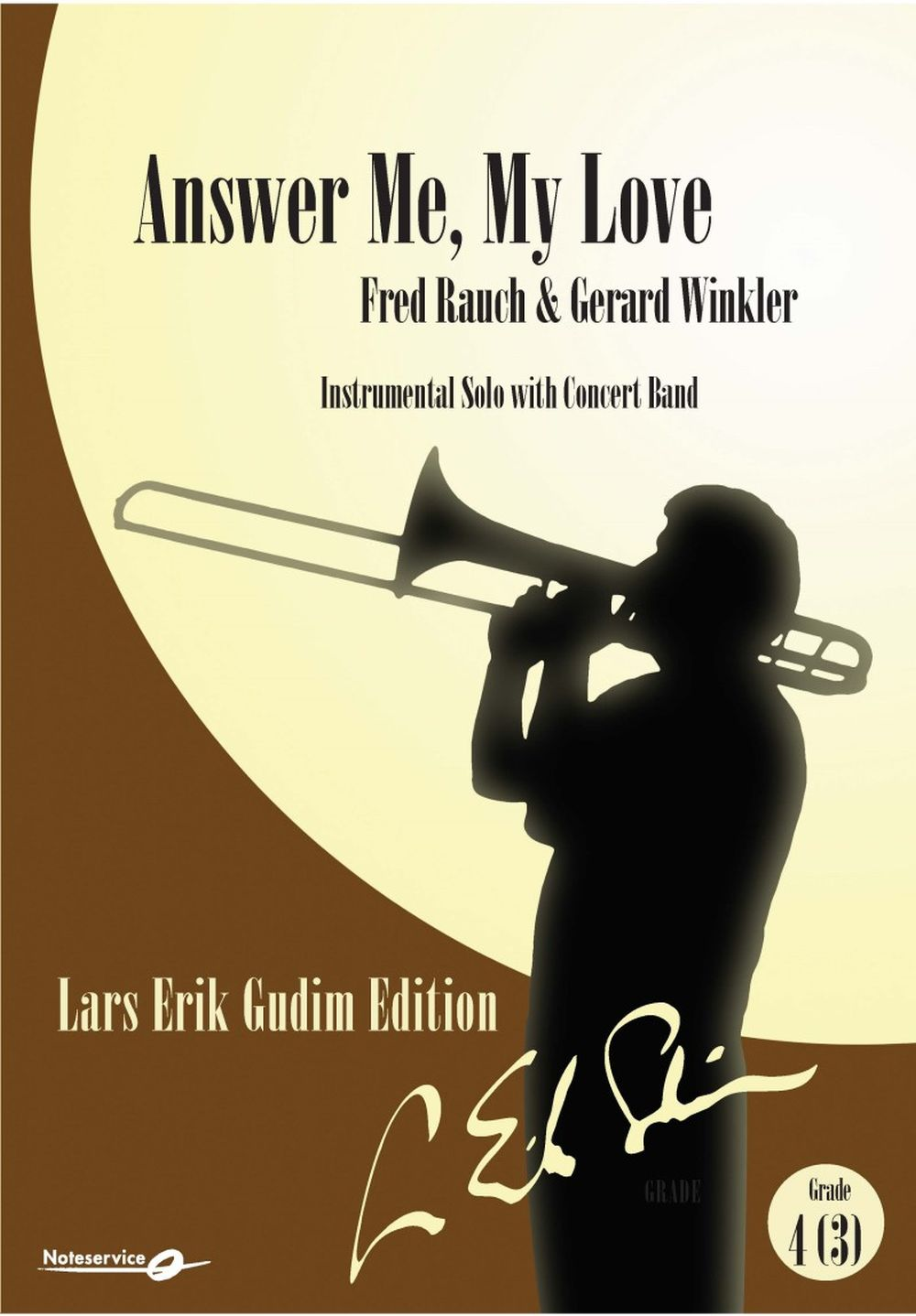 Fred Rauch Gerhard Winkler: Answer Me  My Love: Concert Band: Score and Parts