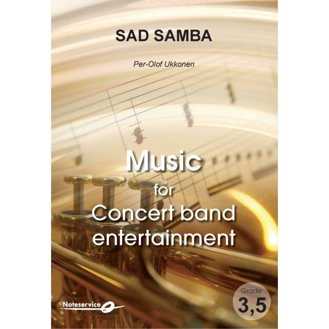 Per-Olof Ukkonen: Sad Samba: Score and Parts
